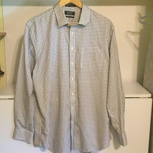 Nordstrom Men's Long Sl. Shirt Size 17 1/2, 36-37
